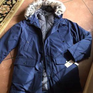 Michael Kors Heavy Winter Faux fur hooded coat